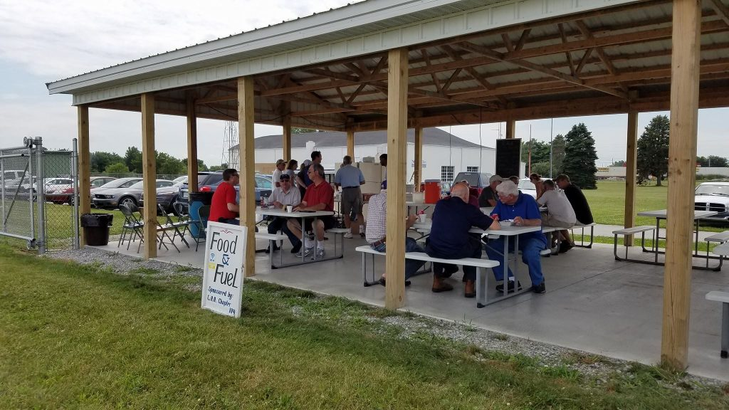 EAA Chapter 104 Food Booth for Oshkosh Traffic